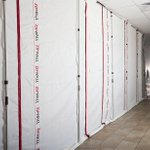 Image for the Tweet beginning: ZipWall® spring-loaded poles work with
