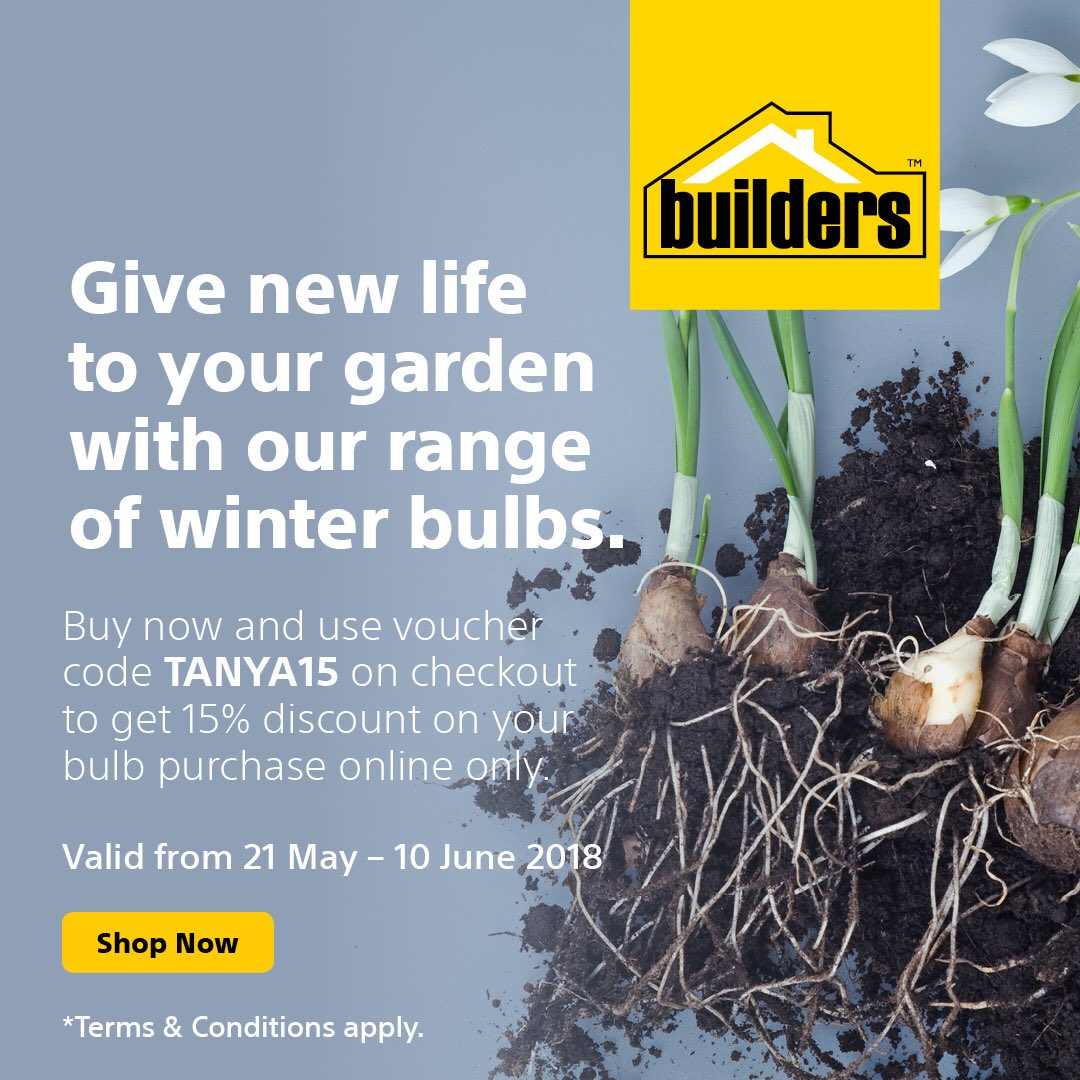 For A Limited Time Only, @BuildersFan Have Given Our Followers A Unique  Special On All Winter Flowering Bulbs. Get 15% Off At Check Out Using The  Code ...