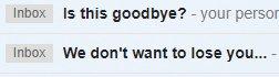 My entire inbox is beginning to feel like the ramblings of a desperate ex-boyfriend #GDPR