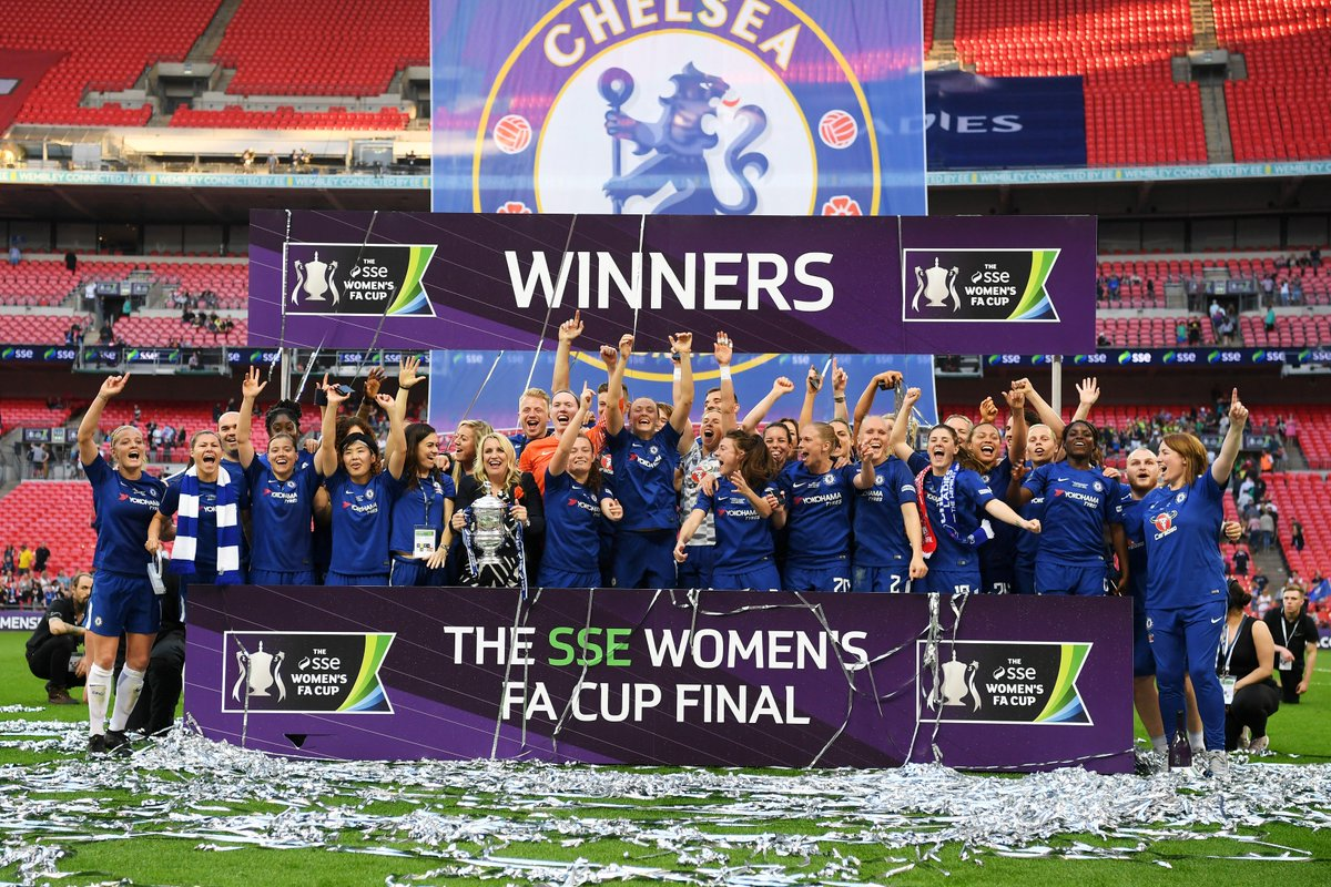 Chelsea Ladies will now be known as Chelsea Football Club Women!  More 👉 https://t.co/29GBftIoMM  #OurTimeIsNow