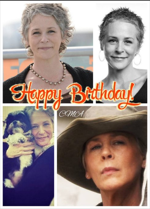 Happy Birthday to the lovely Melissa McBride. I love her so much