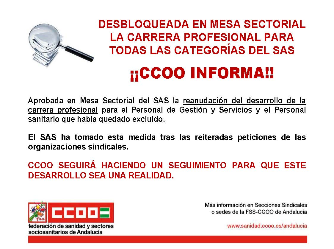 FSS-CCOO Andalucía on Twitter: \
