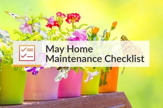 May Home Maintenance Checklist!  https:// buff.ly/2FxNpwK  &nbsp;   #checklist #homemaintenance<br>http://pic.twitter.com/pMbJYKQitC