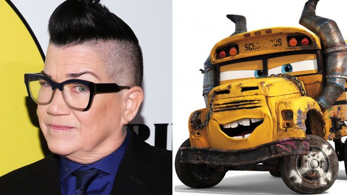 Happy 60th Birthday to Lea DeLaria! The voice of Miss Fritter in Cars 3.
