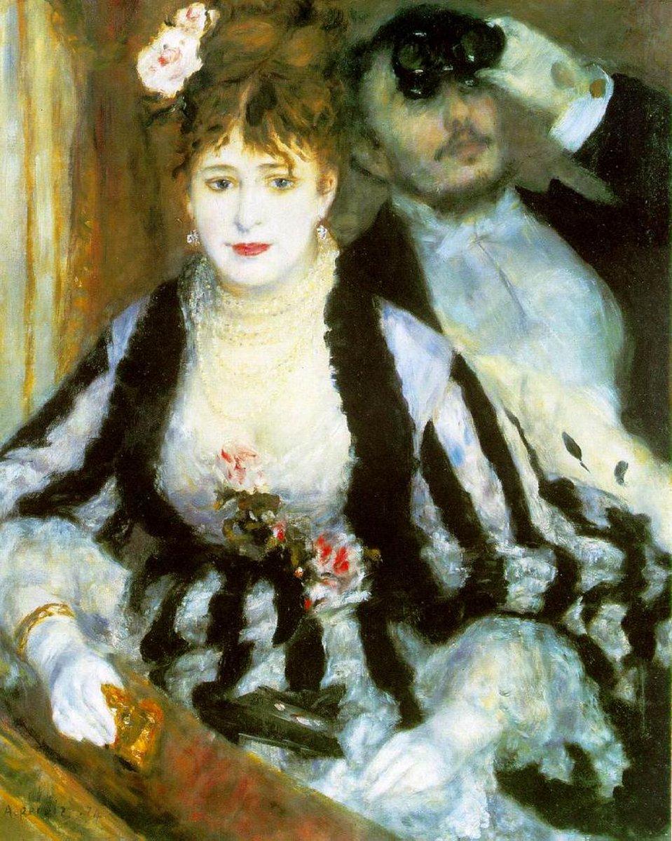 Happy Wednesday everyone! Have a wonderful day :))  Georges Bizet: Carmen  https:// youtu.be/LPBm7MwYLhg  &nbsp;    P.A. Renoir *La loge #ArteYArt #artlover #DonneInArte<br>http://pic.twitter.com/5be9vtyR1U