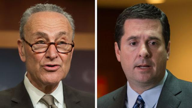 Schumer: GOP lawmakers tell me Nunes is 'off the deep end' https://t.co/GkWPXrcat9