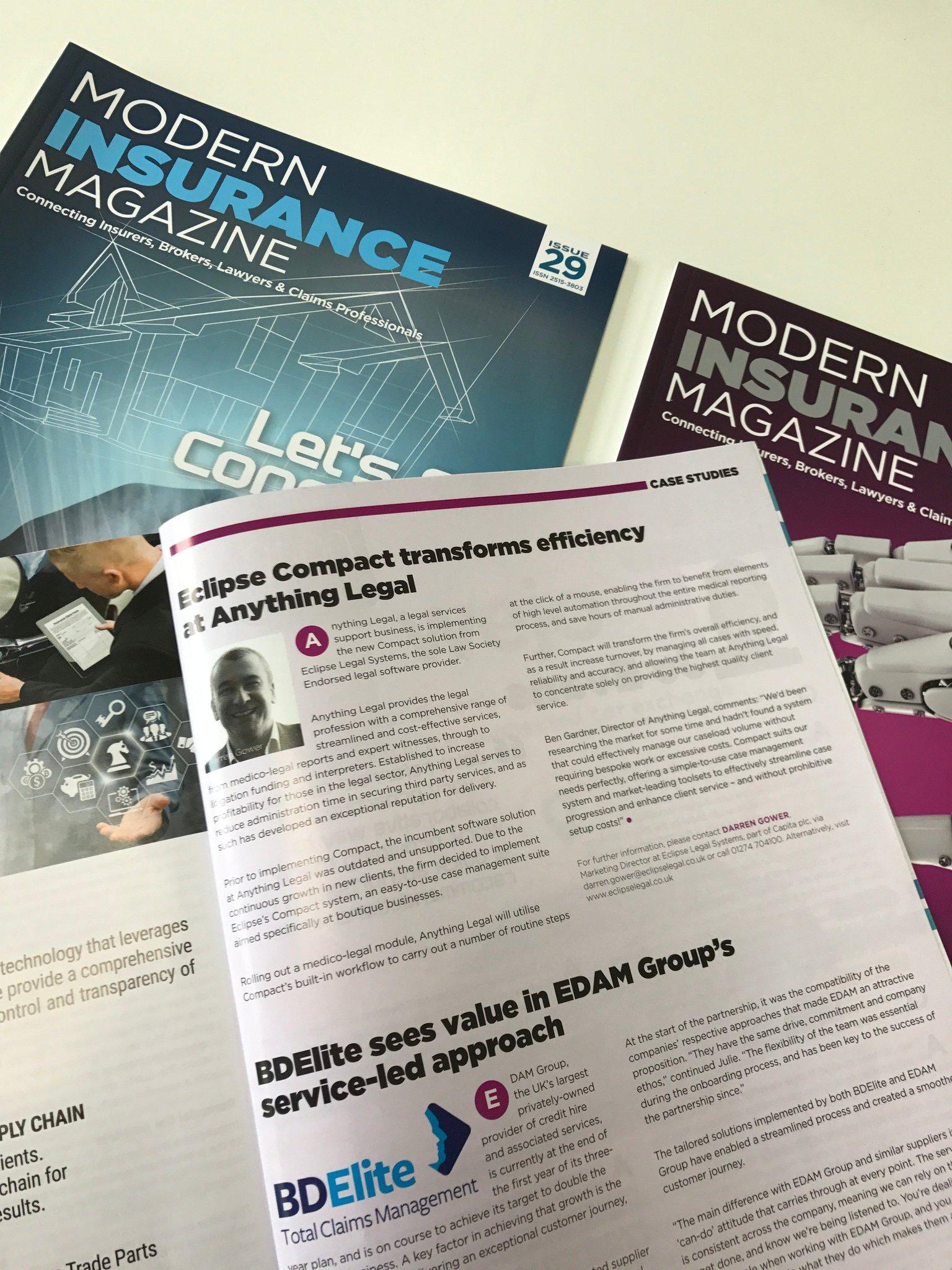 Modern Insurance Magazine on Twitter: