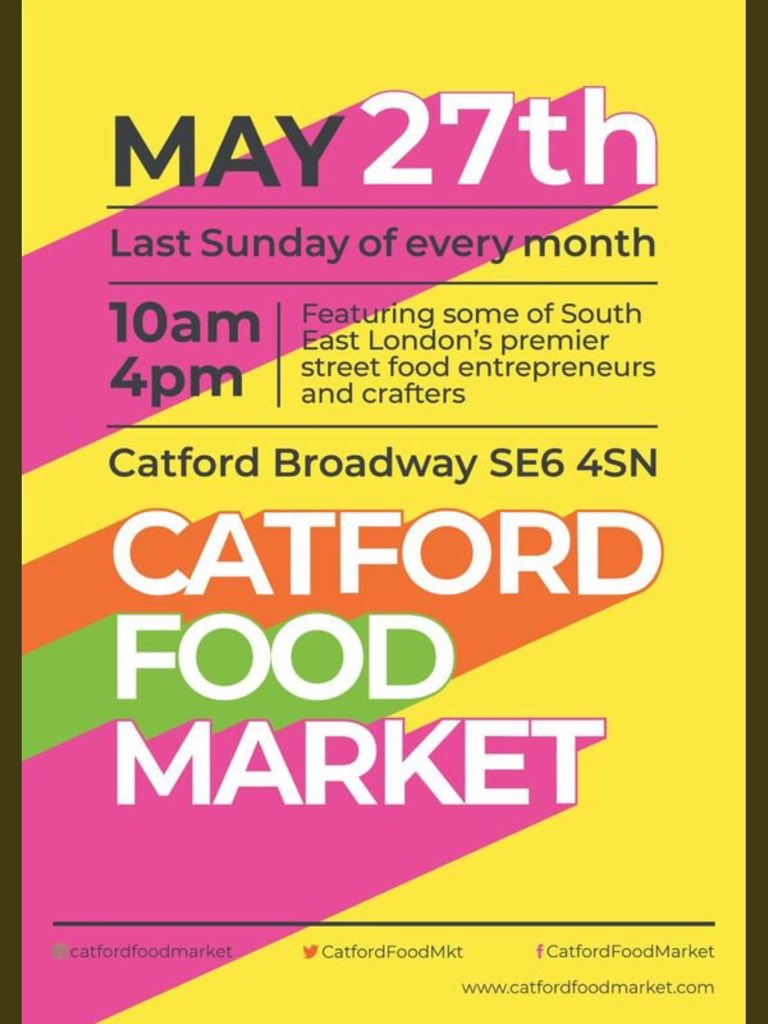 Calling All #Foodies We Are Excited To Announce That We Will Be @CatfordFoodMkt This Sunday 29th May! To Miss This #Event, Is Too Miss Out... . . . . #PattyManUK #vegan #patties #london #supportsmallbusiness #supportblackbusiness #foodblogger #cfm2018 #catford #southlondon<br>http://pic.twitter.com/6tAMnwreiO