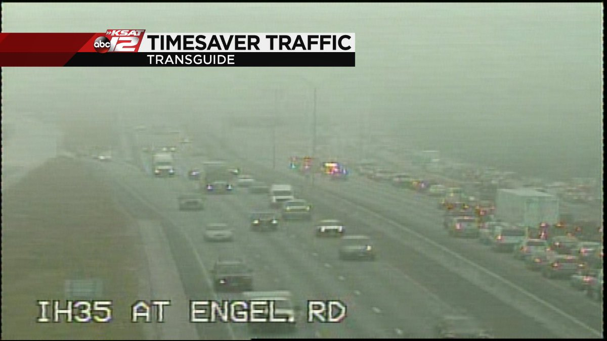 Ksat Traffic On Twitter Update Nb Ih 35 Closed At Engel Rd Due To Major Accident At Solms Rd