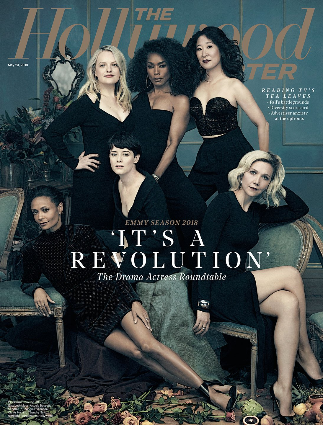 THR Cover: The Actress Roundtable with Claire Foy, Elisabeth Moss, @thandienewton and more https://t.co/mmzBJsiRFe https://t.co/ti97u2uSqW
