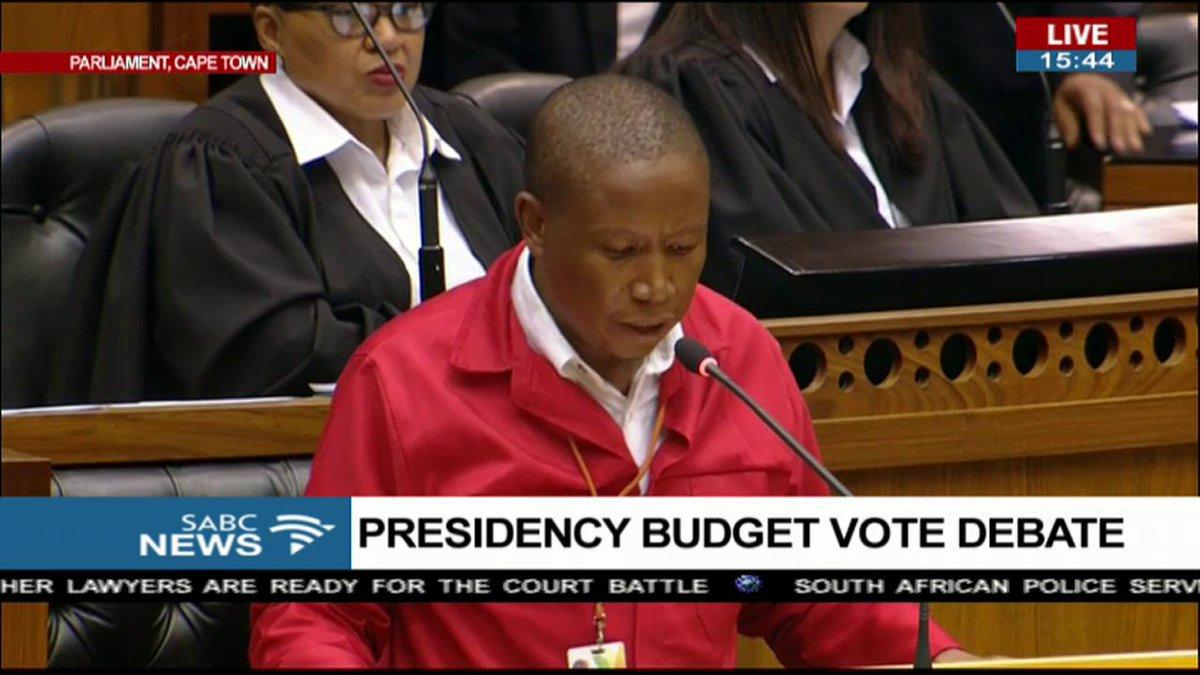 #Malema: 'Nothing has happened'