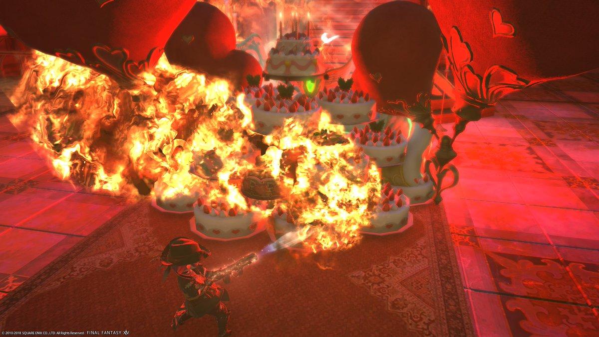 test ツイッターメディア - 機工士70到達記念SS 「炙りケーキ」 https://t.co/8ayRWFcwP0