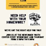 Image for the Tweet beginning: Need homework help? We've got