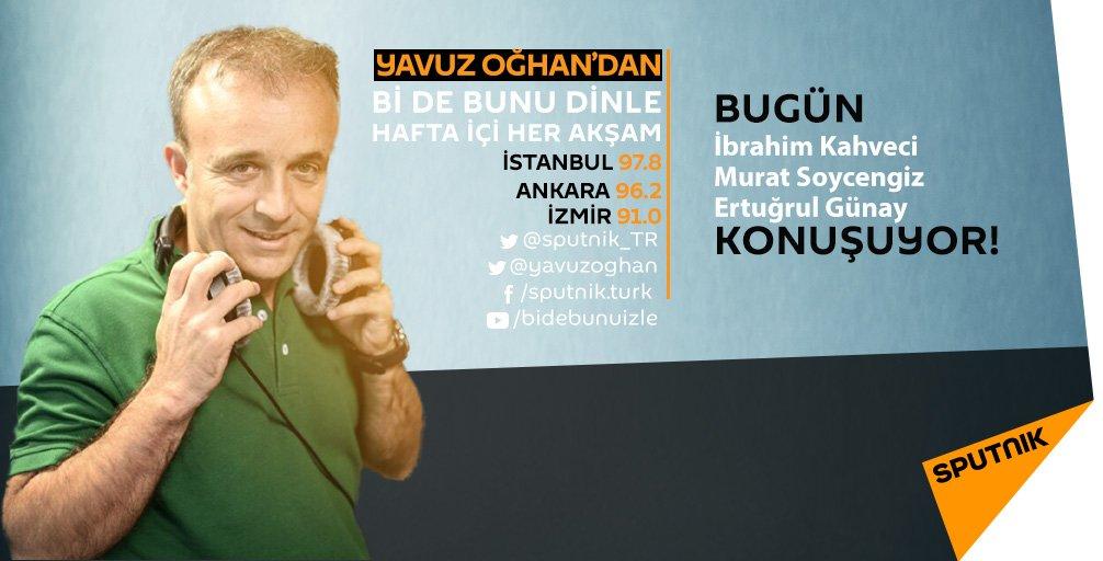 Yavuz Oğhan'dan #Bidebunudinle 17:30 da RS FM'de! youtube.com/c/bidebunuizle @yavuzoghan