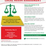 Image for the Tweet beginning: Black Community Legal Needs Assessment