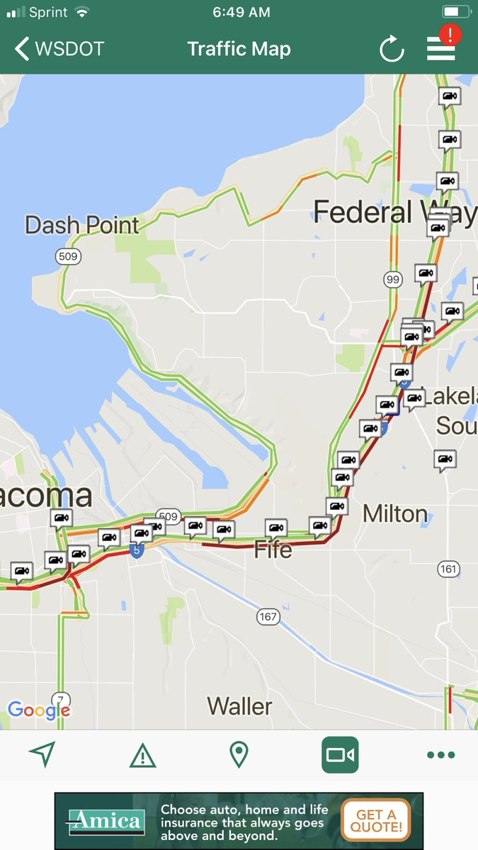 Traffic Map Tacoma.Wsdot Tacoma Traffic On Twitter The Chickenfeatherscene Nb I 5 In