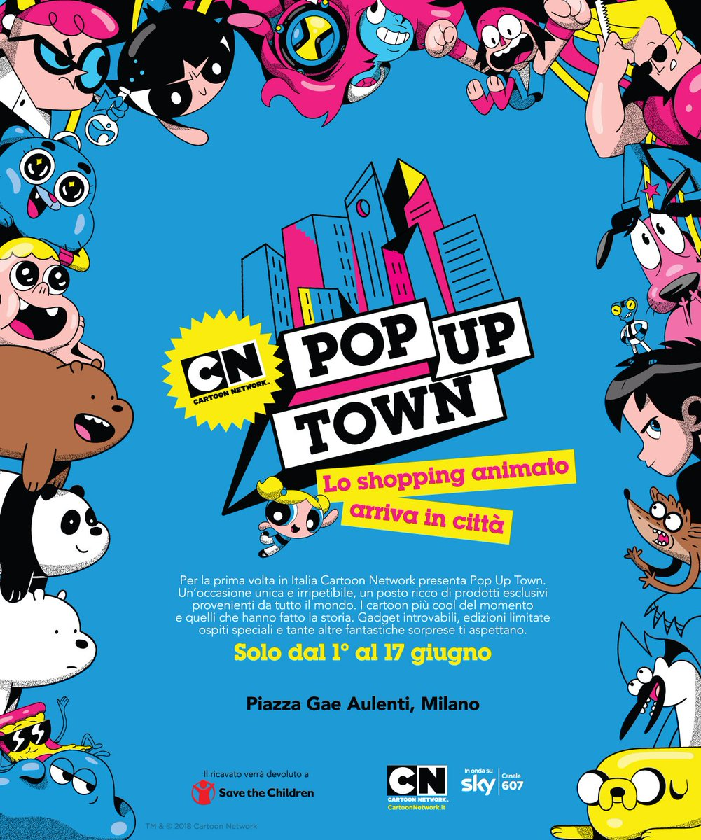 Funko Europe On Twitter We Can T Wait For The Cartoon Network Italy Pop Up Town Event Find Out More Https T Co Mapjs4wjqk