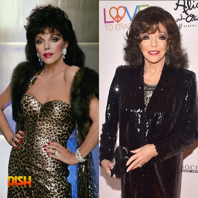 Happy 85th birthday to Dynasty\s Alexis Carrington aka Joan Collins