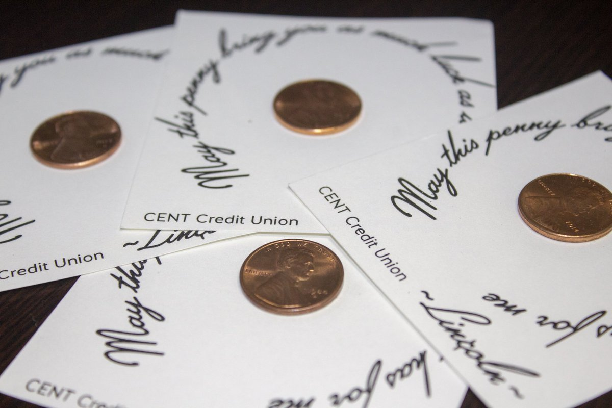 Cent Credit Union On Twitter Its National Luckypennyday The