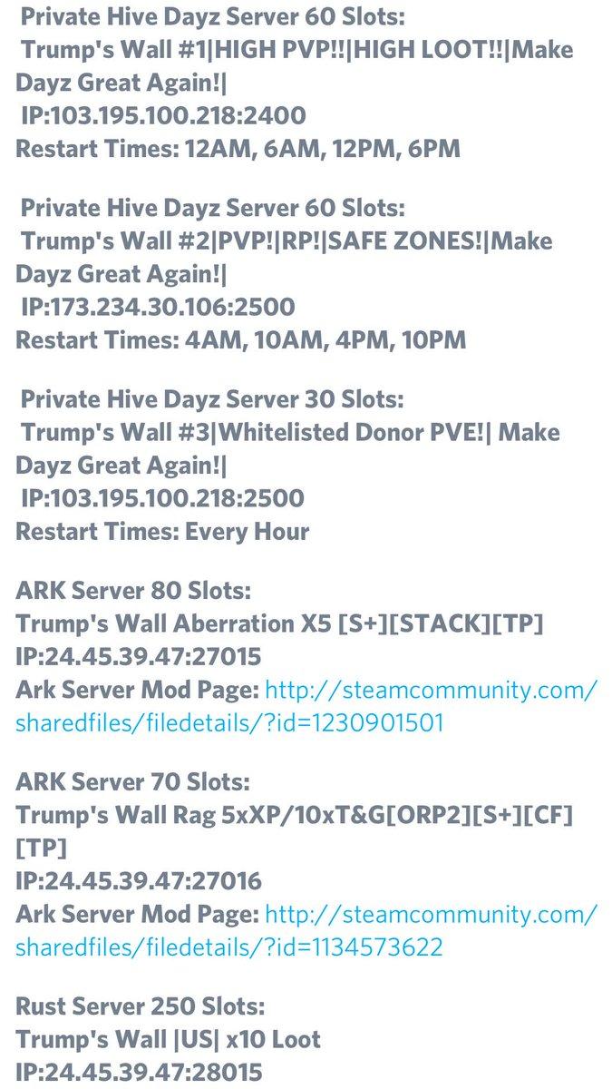 Rust hour server