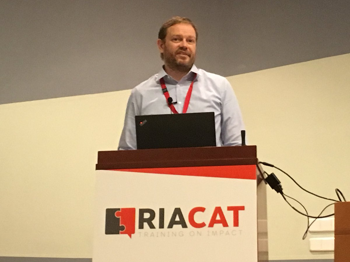@EddyNason was my man today #RIACAT18 . Great job. Not very zen when talking about bibliometrics though! <br>http://pic.twitter.com/IGDSA0mEfJ
