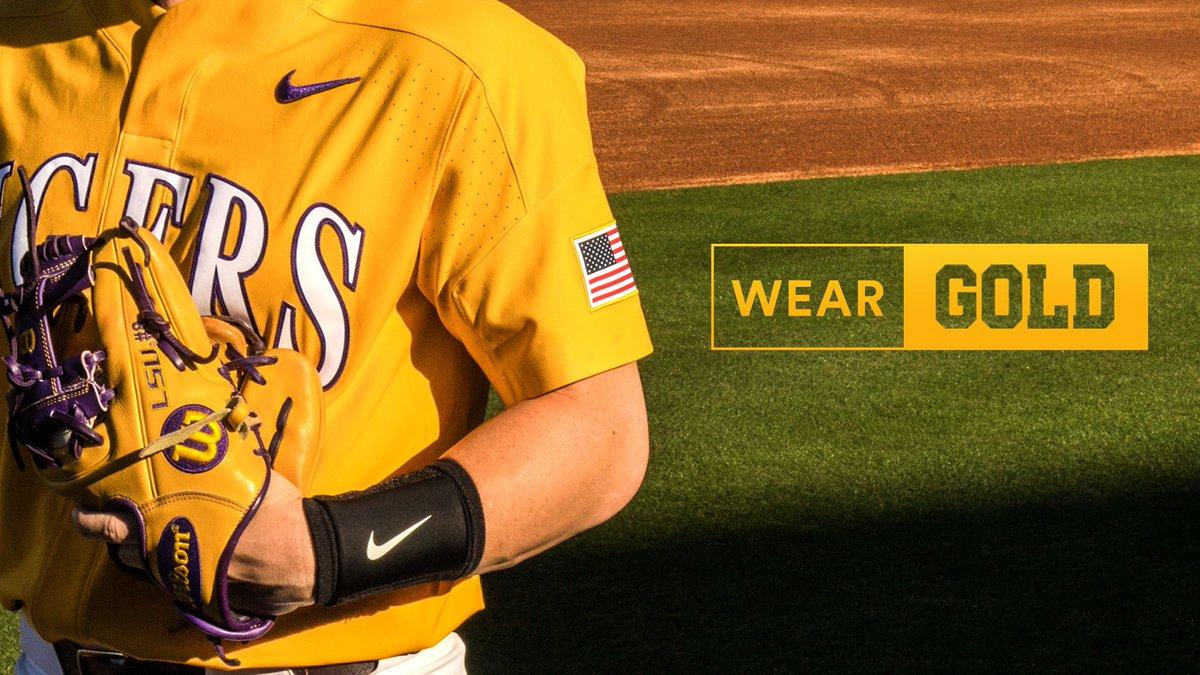 100% authentic 2616e 96d21 LSU Baseball on Twitter:
