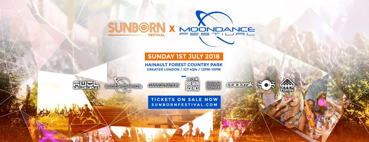 . @sunbornfestival 2018 @MoondanceRavers &amp; @AwolAwayoflife Stage feat. @Randallmac2 @shabbadan @djjjfrost &amp; Many more incl. 6 Arenas in total Sun 1st Jul at 12pm Hainault Forest Country Park Car Park in Chigwell @inthe_southeast @inthe_uk_london  https://www. fatsoma.com/in-the-east-of -england &nbsp; … <br>http://pic.twitter.com/Oe7hU6m5iS