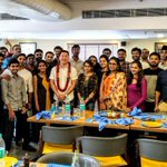 Brian Koh, our VP of #Cloud Sales, visiting the #Hyderabad office and celebrating achievements with the #team.