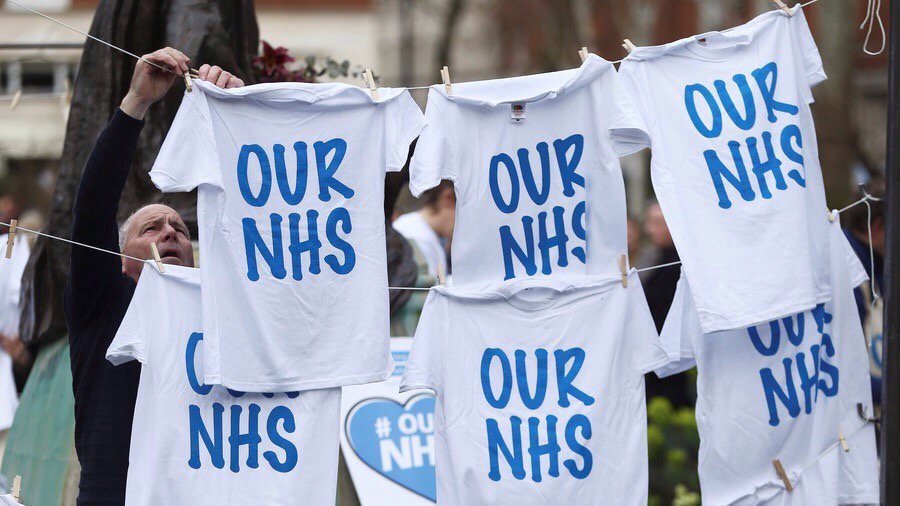 Tories - public to 'celebrate' privatization in NHS as Hawking campaign hits high court #NHS  https://www. rt.com/uk/427572-nhs- privatization-may-hawking/ &nbsp; … <br>http://pic.twitter.com/GKGKcqVDDO