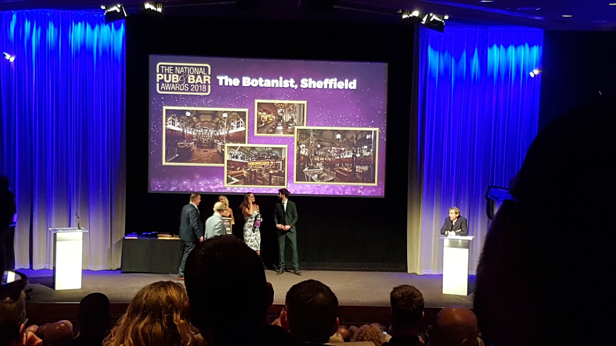 Congrats to @TheNWTC and the @thebotanistuk Sheffield for their regional win! #PubAndBarAwards https://t.co/AS6tmYahre