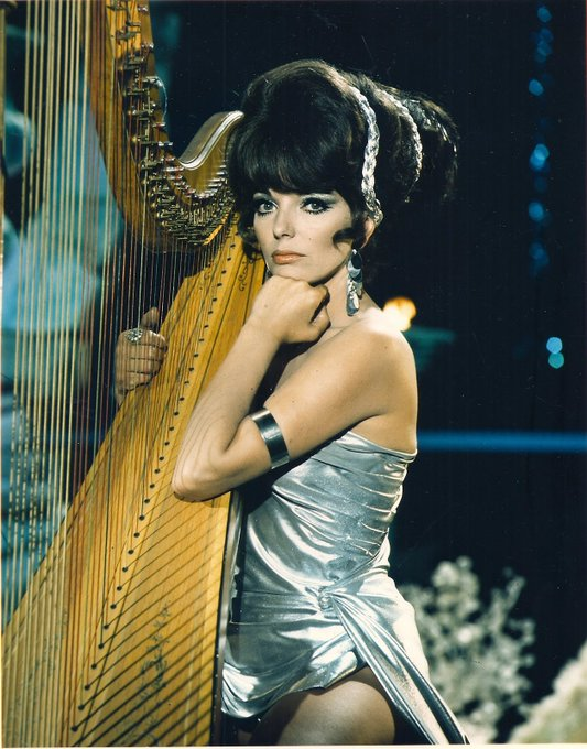 Joan Collins in the TV series BATMAN   1967.  Happy birthday Miss Collins.