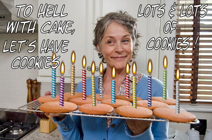A very happy birthday to our one and only Melissa McBride!