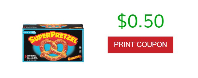 $0.50 off any SUPERPRETZEL® Product! Print coupon now   http:// trk.shophermedia.net/click.track?CI D=410186&amp;AFID=302896&amp;ADID=2103696&amp;SID= &nbsp; …   #ad #coupon #coupons #savemoney #save #food #snacks #shopping #grocery #couponcommunity #dealoftheday #wednesdaywisdom #wednesdaymotivation #wednesdaythoughts #printable #momlife #moms #kids<br>http://pic.twitter.com/gx0SalZvRh