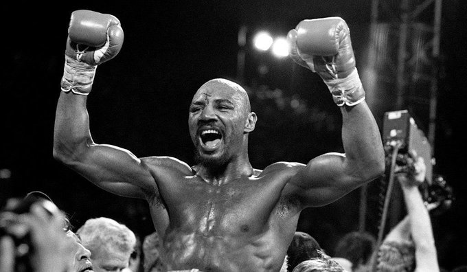 Happy Birthday to the greatest middleweight of all time, Marvelous Marvin Hagler!!