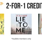 Image for the Tweet beginning: Hey, @audible_com members, looking for