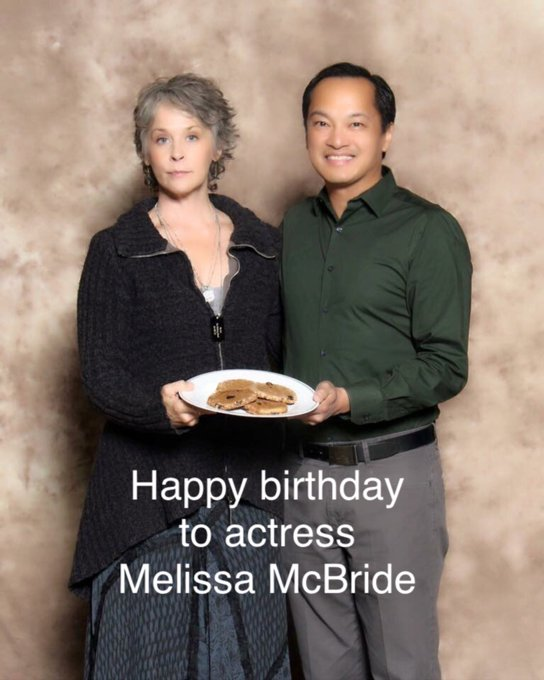 Happy birthday to TWD actress Melissa McBride!
