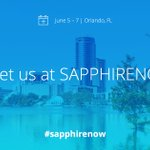 We're excited for all we have in store for you at #SAPPHIRENOW. Are you ready to meet the experts that will show you how you can speed digital innovation leveraging @SAP applications as the core? https://t.co/fPTzp8LmPi @SAPPHIRENOW