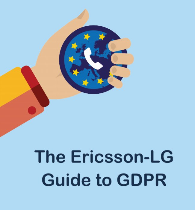 #WednesdayWisdom  Here is a helpful guide for business telephone systems and #GDPR -    http://www. evoketelecom.com/GDPR-guide.pdf  &nbsp;      #UKSmallBiz #ukbizhour  #UKBiz #BizHour #UKSME #SME #SMEs #UKBusinessHour great work from the guys at Ericsson-LG via Pragma here<br>http://pic.twitter.com/4as41rioud