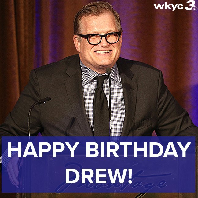 A very happy 60th birthday to Cleveland\s own Drew Carey!! The Rhodes High grad continues to make us proud.