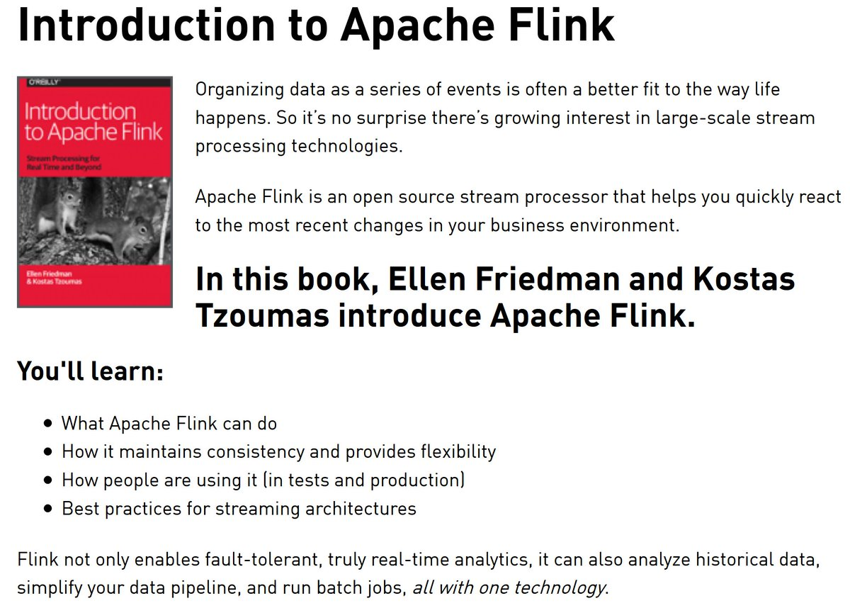 Introduction to Apache Flink Stream Processing for Real Time and Beyond