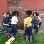 WIP @SVSFCenter Children's urban #garden.
