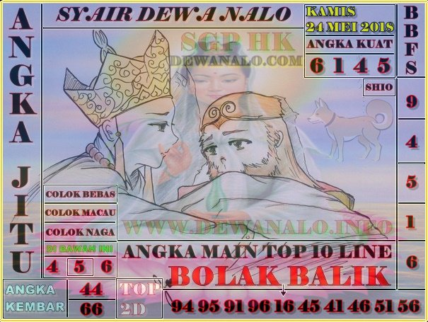 Syair Dewa Nalo Kamis 24-05-2018