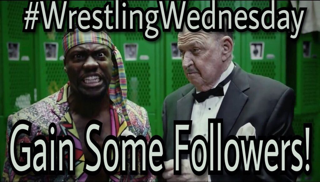 It's #WrestlingWednesday  Havent done one of these in a few weeks. Lets all ban together and make for a bigger, stronger wrestling community  #RT this post #Like this post &amp; #Follow everyone that does the same!   #WWE #RAW #SDLive #NXT #NJPW #ROH #ALLIN<br>http://pic.twitter.com/GpiHjNWoWs