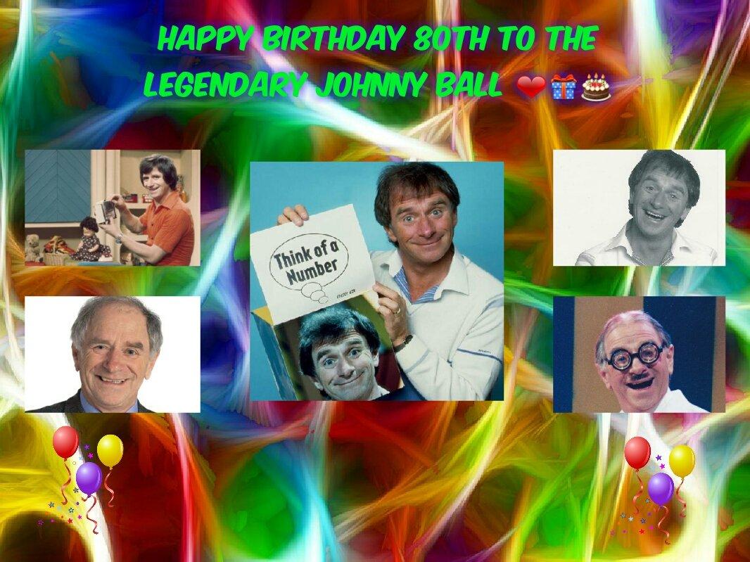 Happy birthday to the legendary johnny ball my childhood xx