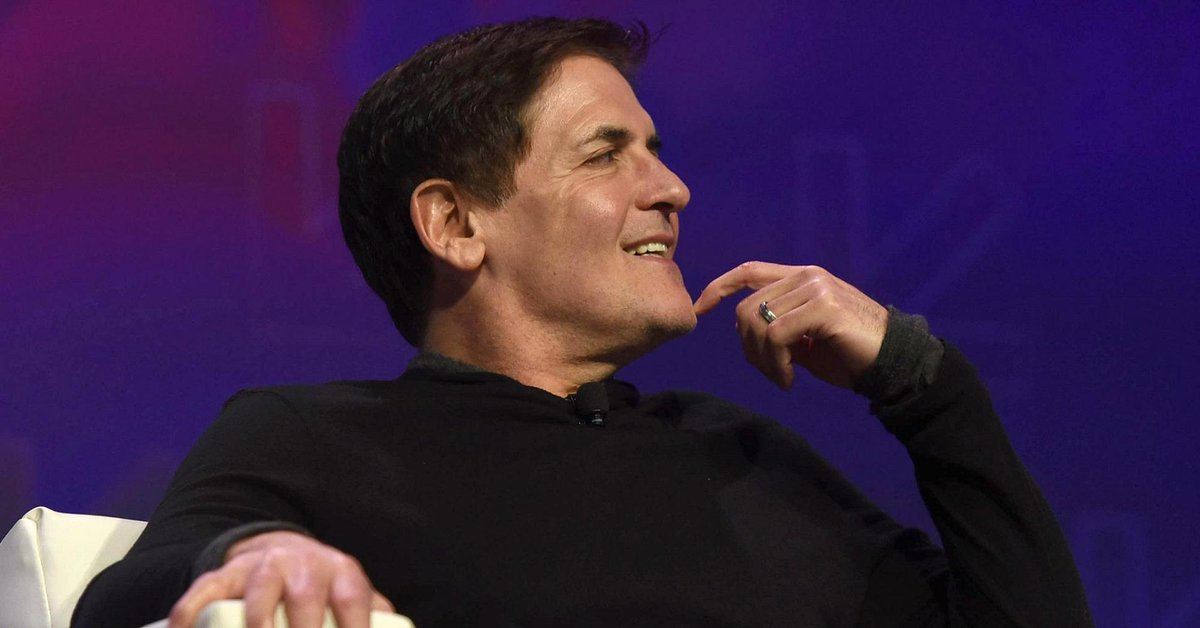Billionaire Mark Cuban shares 'the meaning of life' in 4 words https://t.co/ZSMIV8LMVy