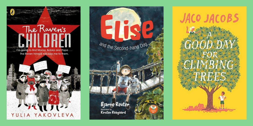 Celebrating #booksintranslation with @FCBGNews and showcasing three newly published #books from the @Booktrust #inotherwords2017 project. @ren_lessien @PotterNicky @Rocktheboatnews @PuffinBooks  http://www. fcbg.org.uk/celebrating-a- golden-age-for-books-in-translation/#GNSSM &nbsp; … <br>http://pic.twitter.com/NbOWqRSzYf