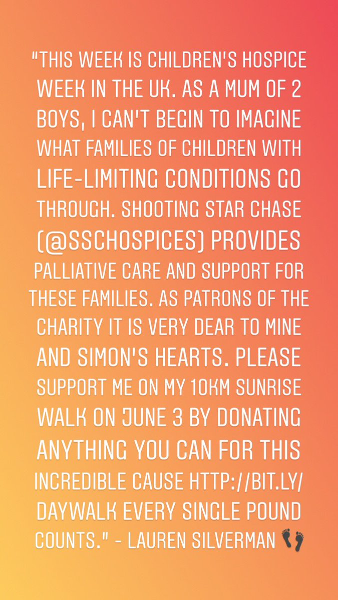 test Twitter Media - My friend Lauren is walking 10km for @SSChospices , a truly amazing cause 💖 For details on how to help her on her quest, no matter how big or small, click here https://t.co/O3qmFmehR6  💫 thank you 🙏🏼 https://t.co/TYKA3wmO61
