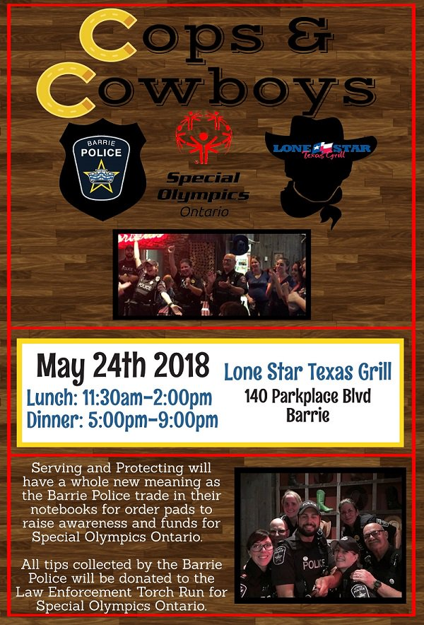 test Twitter Media - Today is the day @LETRBarrie!  Come out to @lonestar_tg TODAY to support local @SOOntario & @SooBarrie athletes and have the chance to be served by some of Barrie's finest!  Lunch 11:30am-2:00pm  Dinner 5:00pm-9:00pm  Find all the details here: https://t.co/8E0LJFlWGl https://t.co/1cbRP3yh4y