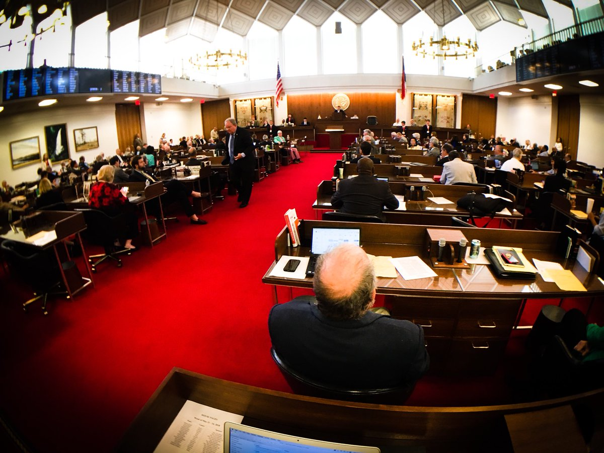 Republicans are ramming through their budget without any Democratic input or amendments because they are afraid to take votes on proposals for better teacher pay and tax fairness. #ncga #ncpol #taxfairness<br>http://pic.twitter.com/WOnDIL8oSr