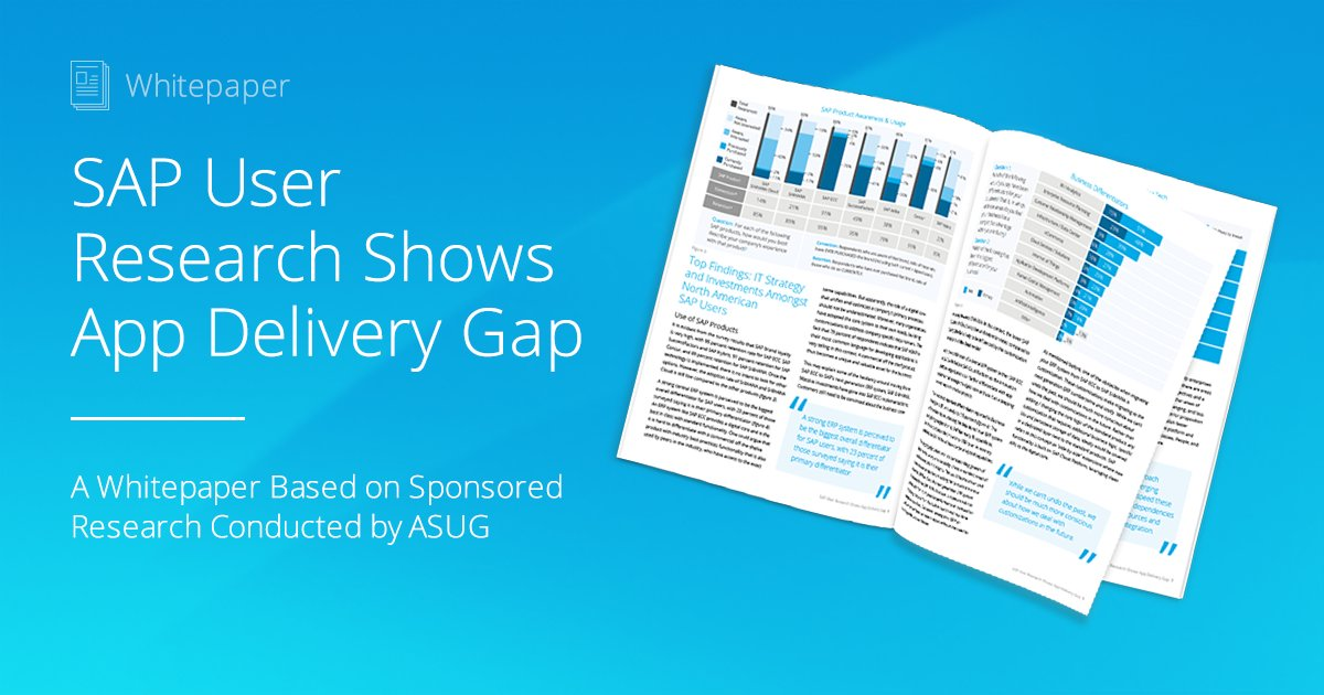 Interesting read!! You can chat with @EPIUSEAmerica and @Mendix experts to learn more at #SAPPHIRENOW!!!